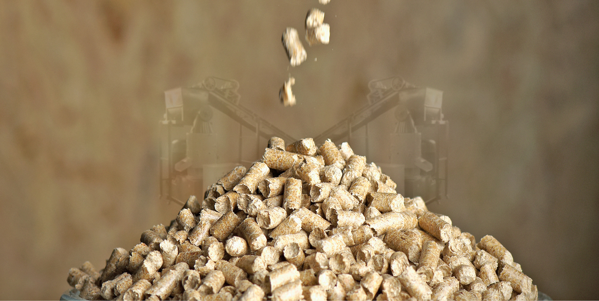 Our job is to make pellet from every product